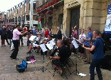 With the Mawson Road Community Orchestra